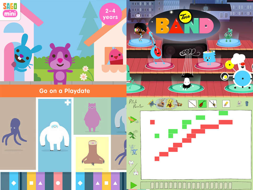 Best Apps For 4 Year Olds >> The Best Music Apps For Kids Kinderling Kids Radio Music For