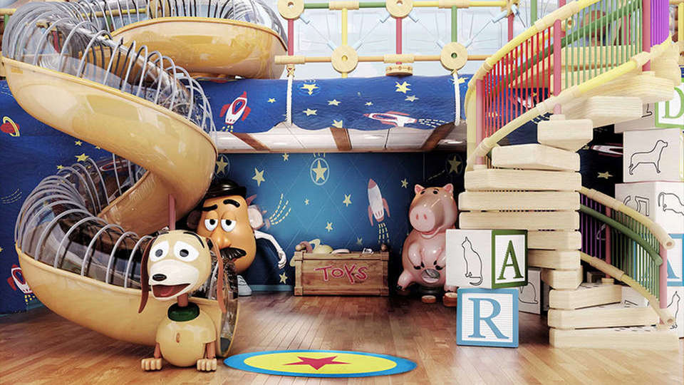 Amazing Bedrooms Part - 26: 1. The Toy Story Room