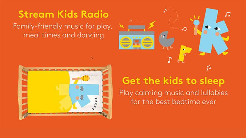 Download the free Kinderling app — Kinderling Kids Radio