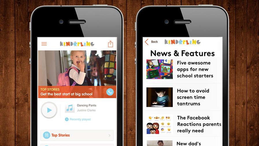 Download our free Kinderling app — Kinderling Kids Radio — music